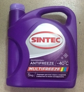 Антифриз Sintec -40 (MULTIFREEZE) 5кг